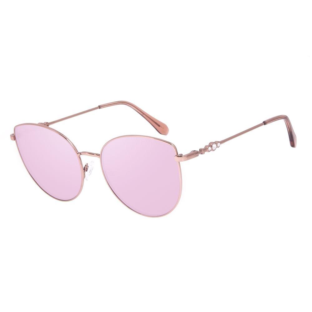 Óculos de Sol Feminino Swarovski Dia dos Namorados Cat Rosé OC.MT.3057-9502