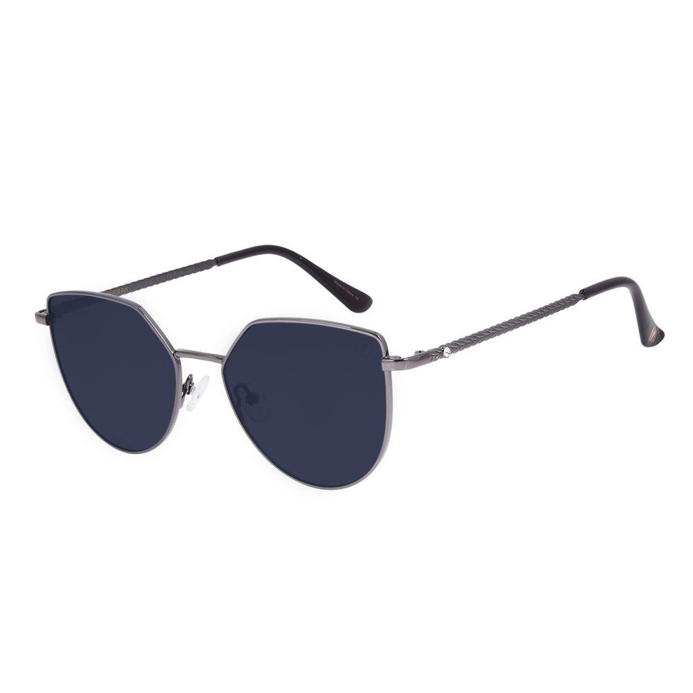 Óculos de Sol Feminino Swarovski Dia dos Namorados Cat Ônix OC.MT.3063-0122