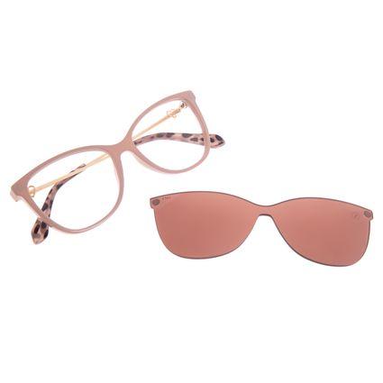 Armação para Óculos de Sol Feminino Swarovski Dia dos Namorados Multi Rosa LV.MU.0531-0293