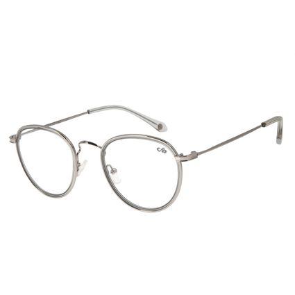 Armação para Óculos de Grau Feminino Chilli Beans Redondo Ônix LV.MT.0406-0422