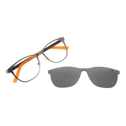 Armação Para Óculos de Grau Masculino Chilli Beans Multi Bossa Nova Ônix LV.MU.0361-0122