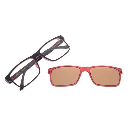 Armação Para Óculos De Grau Masculino Chilli Beans Multi Vinho LV.MU.0137-0217