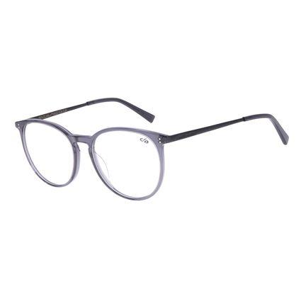 Armação Para Óculos de Grau Unissex Chilli Beans Redondo Preto LV.AC.0662-0101