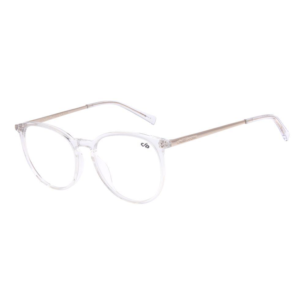 Armação Para Óculos de Grau Unissex Chilli Beans Redondo Transparente LV.AC.0662-3607