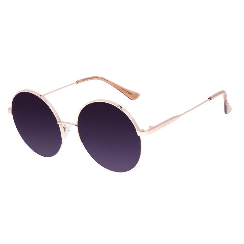 Óculos de Sol Feminino Chilli Beans Dia das Mães Banhado a Ouro Degradê OC.MT.3022-2095