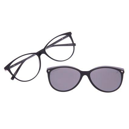 Armação Para Óculos de Grau Feminino Chilli Beans Multi Dia das Mães Preto Polarizado LV.MU.0477-0501