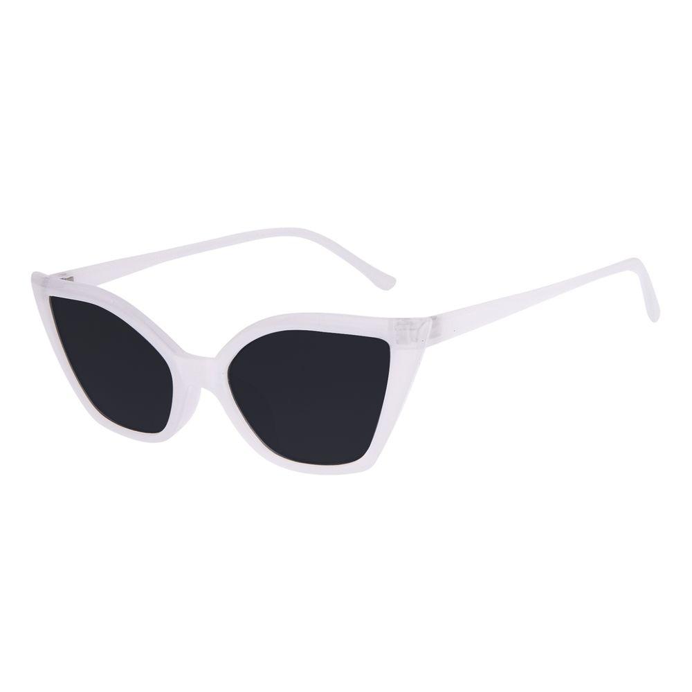 Óculos de Sol Feminino Chilli Beans Gatinho 50's Prata OC.CL.3267-0107