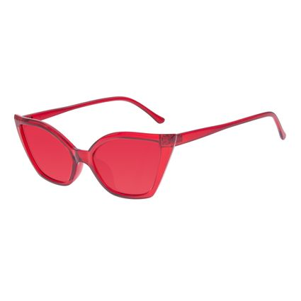 Óculos de Sol Feminino Chilli Beans Gatinho 50's Vermelho OC.CL.3267-1616