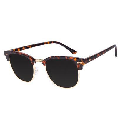 Óculos de Sol Unissex Chilli Beans Jazz Classic Tartaruga OC.CL.3269-1530
