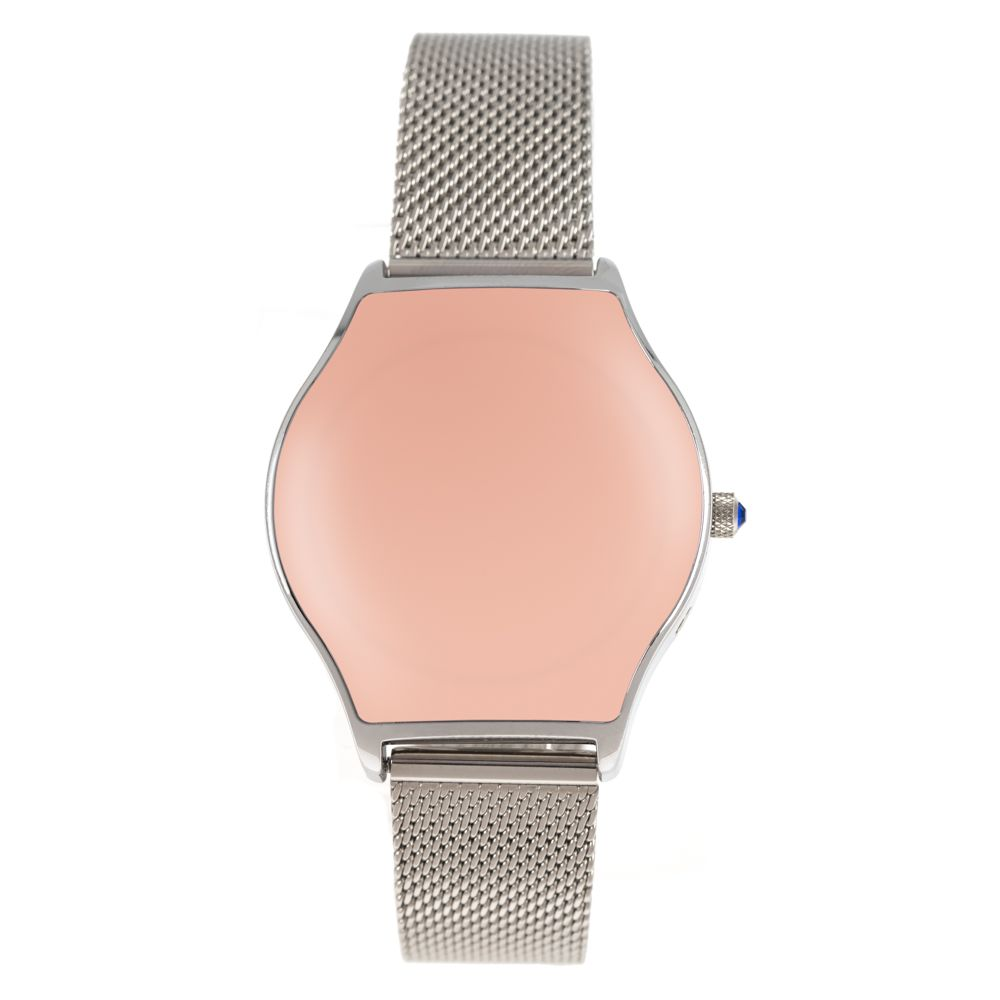 Relógio Analógico Feminino Color Match Prata RE.MT.1167-0107