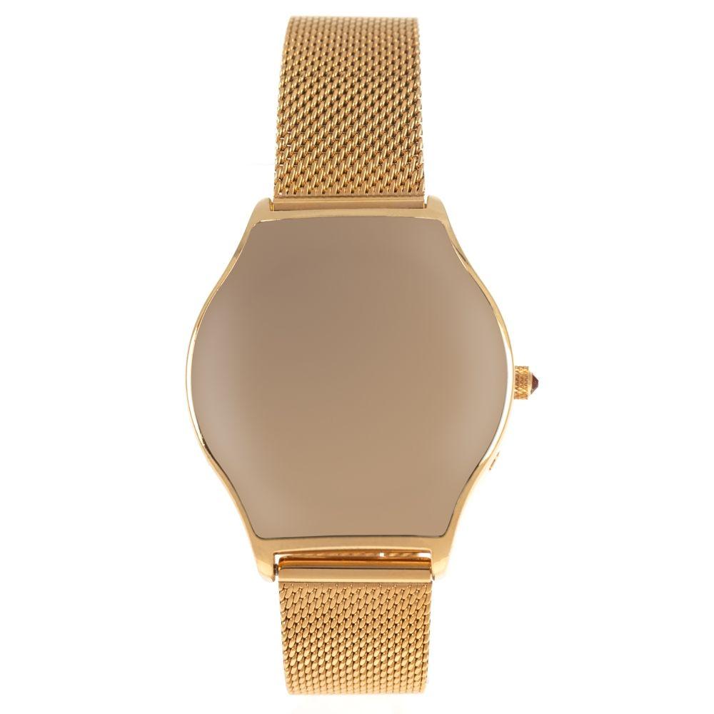 Relógio Analógico Feminino Color Match Dourado RE.MT.1167-0121