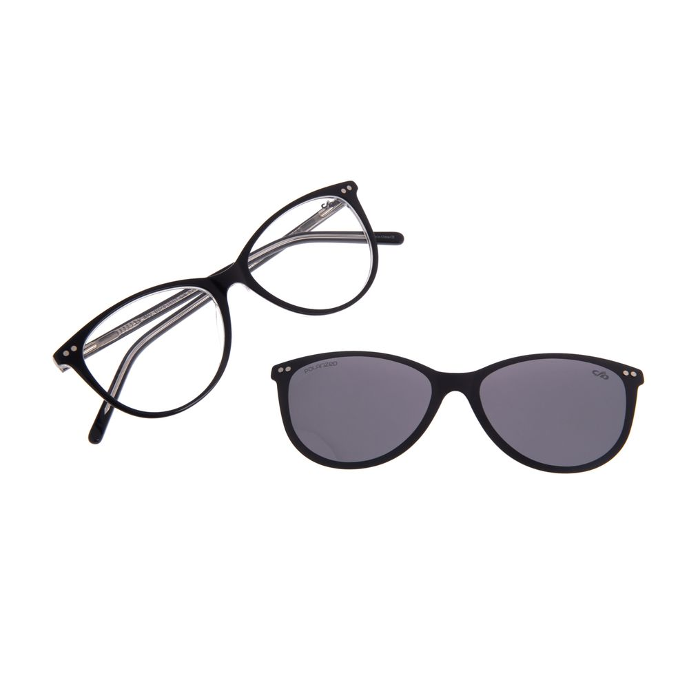 Armação Para Óculos de Grau Feminino Chilli Beans Multi Preto Polarizado LV.MU.0375-0501