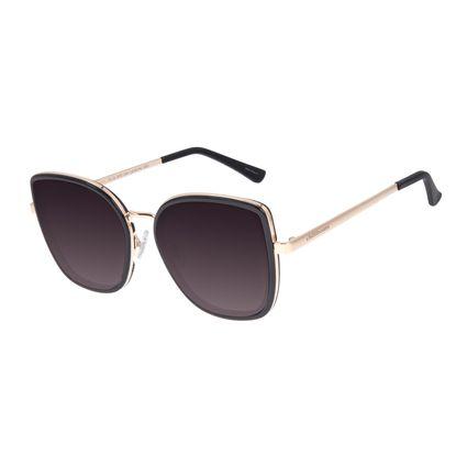 Óculos de Sol Feminino Chilli Beans Quadrado Preto OC.CL.3072-2001