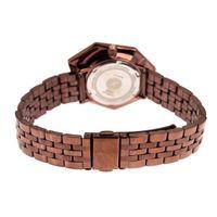 Relógio Analógico Feminino Chilli Beans Facetado Crystal Edition Marrom RE.MT.1045-9502.2