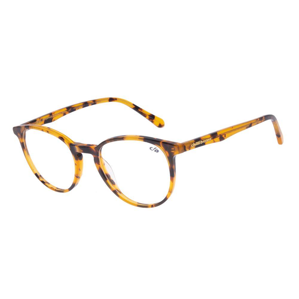 Armação Para Óculos de Grau Feminino Chilli Beans Redondo Tartaruga LV.AC.0682-0606