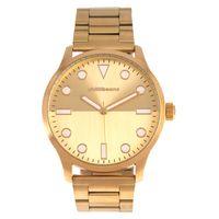 Relógio Analógico Masculino Chilli Beans Fashion Metal Dourado RE.MT.1085-2121