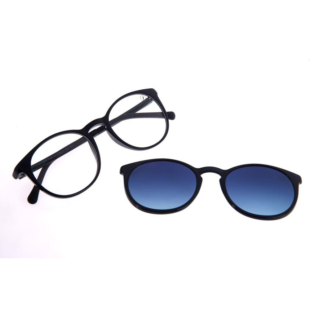 Armação Para Óculos De Grau Unissex Chilli Beans Essential Multi Azul Escuro Polarizado LV.MU.0406-8390