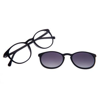 Armação Para Óculos De Grau Unissex Chilli Beans Essential Multi Fume Polarizado LV.MU.0406-2005