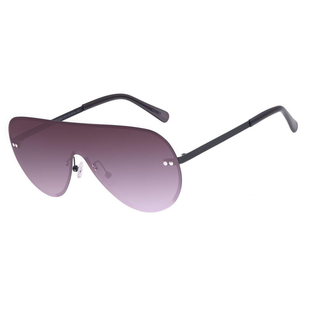 Óculos de Sol Feminino Chilli Beans Máscara Metal Fashion Preto OC.MT.3004-5701