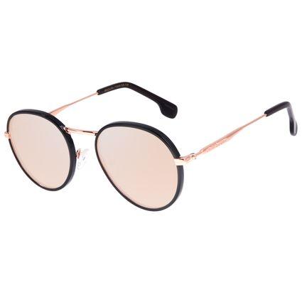 Óculos de Sol Feminino Chilli Beans Redondo Banhado a Ouro Rosé OC.CL.3181-9595
