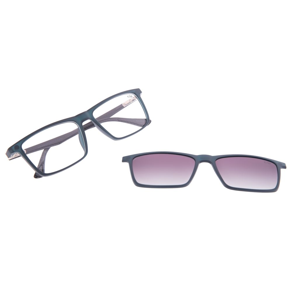 Armação Para Óculos de Grau Masculino Chilli Beans Multi Degradê Azul LV.MU.0456-2008