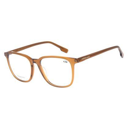 Armação Para Óculos de Grau Unissex Chilli Beans Quadrado Marrom LV.AC.0661-0202