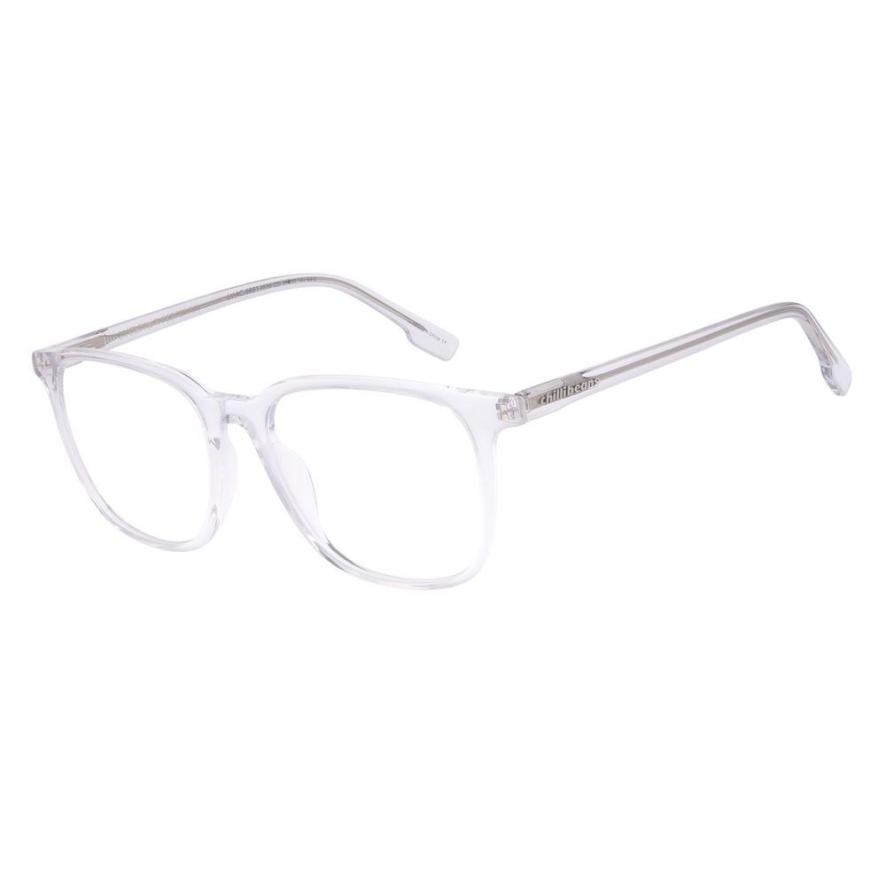 Armação Para Óculos de Grau Unissex Chilli Beans Quadrado Transparente LV.AC.0661-3636