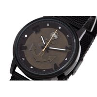 Relógio Analógico Masculino Mar.É Âncora Preto RE.MT.1181-0101.5