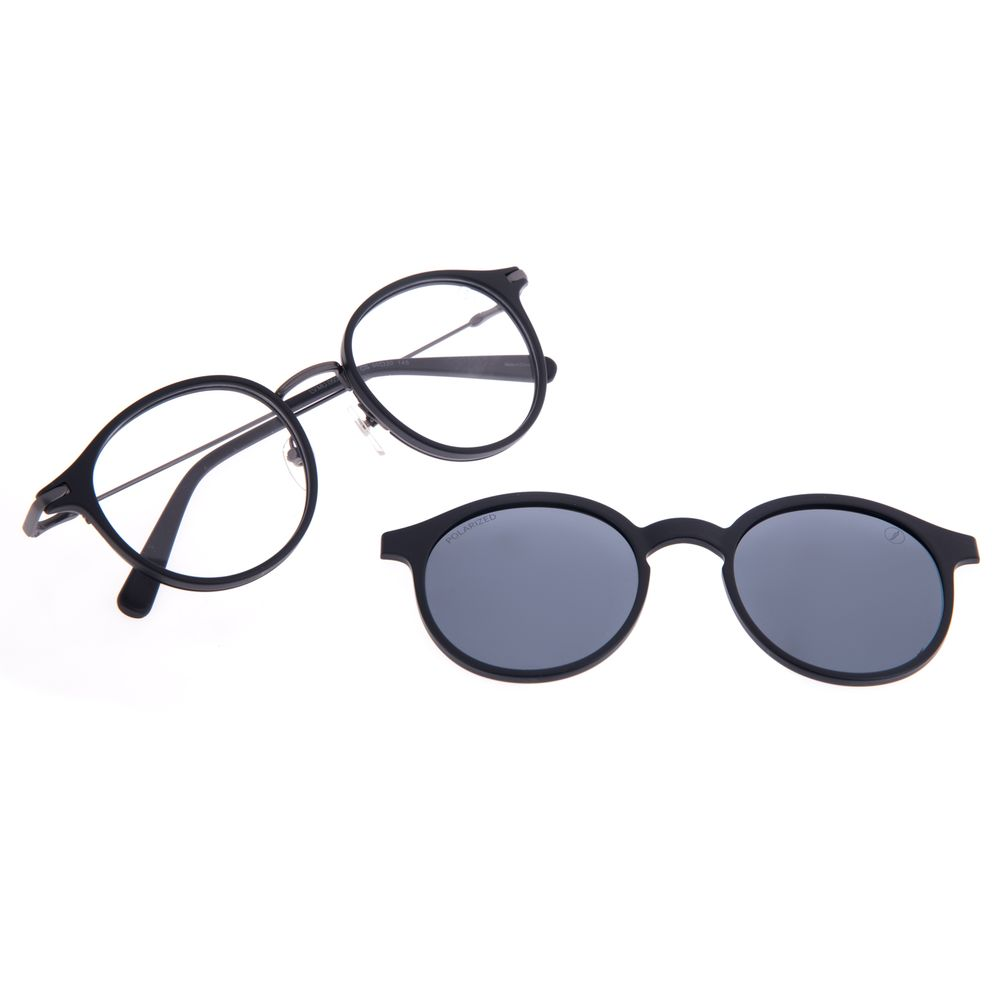 Armação Para Óculos de Grau Unissex Chilli Beans Multi Polarizado Preto LV.MU.0503-0501