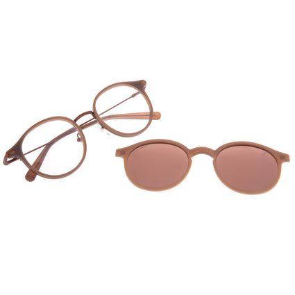 Armação Para Óculos de Grau Unissex Chilli Beans Multi Polarizado Marrom LV.MU.0503-0202