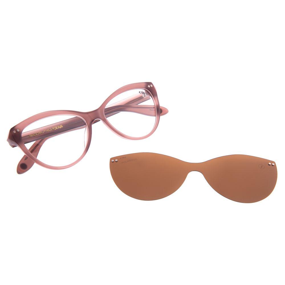 Armação Para Óculos de Grau Feminino Chilli Beans Cat Multi Polarizado Bege LV.MU.0516-0223