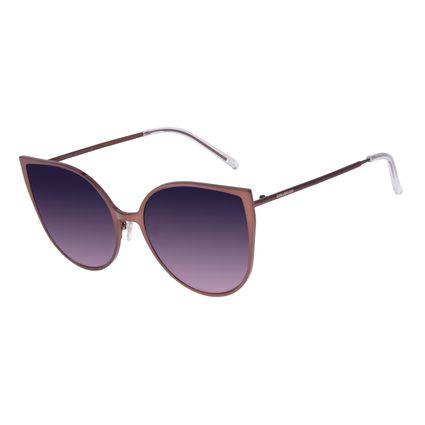 Óculos De Sol Feminino Chilli Beans Gatinho Marrrom OC.MT.2646-0502