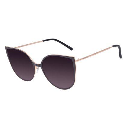 Óculos De Sol Feminino Chilli Beans Gatinho Dourado OC.MT.2646-0521