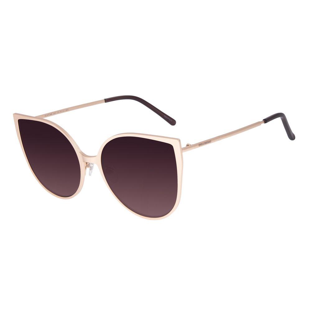 Óculos De Sol Feminino Chilli Beans Gatinho Degradê OC.MT.2646-2021