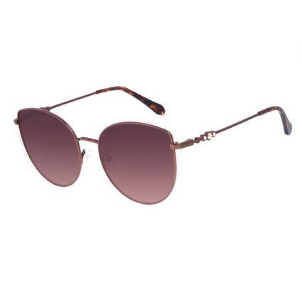 Óculos de Sol Feminino Swarovski Dia dos Namorados Cat Marrom OC.MT.3057-5702