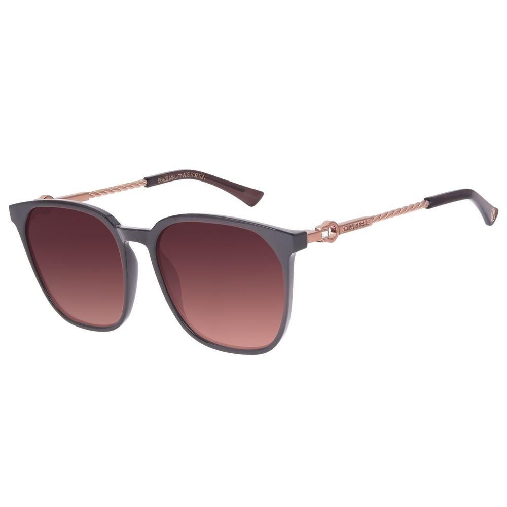 Óculos de Sol Feminino Swarovski Dia Dos Namorados Degradê Marrom OC.CL.3234-5702