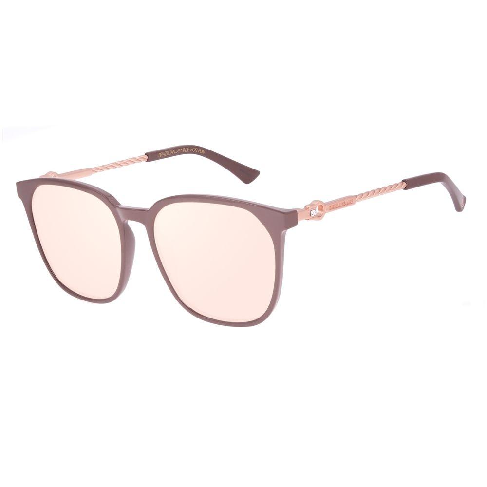 Óculos de Sol Feminino Swarovski Dia Dos Namorados Marrom OC.CL.3234-2302