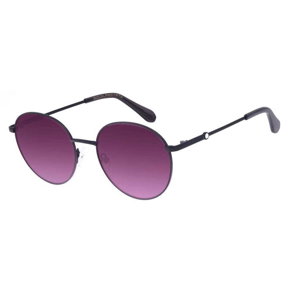 Óculos de Sol Feminino Swarovski Dia dos Namorados Redondo Preto OC.MT.3056-5701