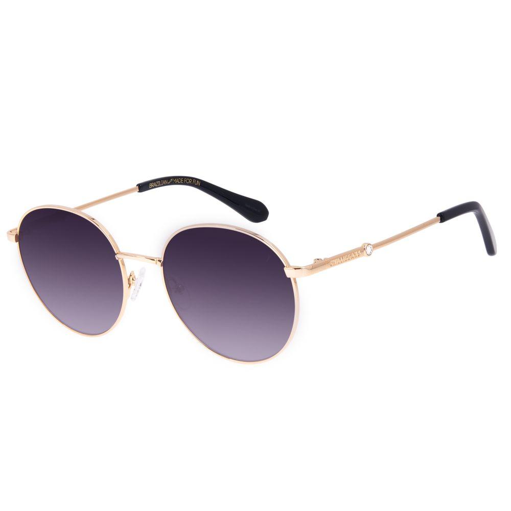 Óculos de Sol Feminino Swarovski Dia dos Namorados Redondo Degradê OC.MT.3056-2021
