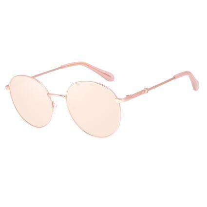 Óculos de Sol Feminino Swarovski Dia dos Namorados Redondo Rosé OC.MT.3056-2395