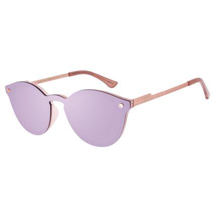 Óculos de Sol Unissex Alok Dia dos Namorados Redondo Rosa OC.CL.3292-5781