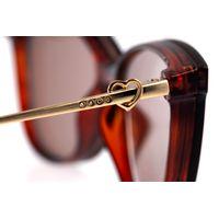 Armação para Óculos de Sol Feminino Swarovski Dia dos Namorados Multi Rosé LV.MU.0531-0295.6