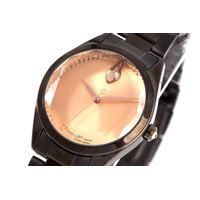 Relógio Analógico Feminino Swarovski Dia dos Namorados Facetado Ônix RE.MT.1192-9522.5