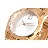 Relógio Analógico Feminino Swarovski Dia dos Namorados Facetado Dourado RE.MT.1192-0721.5