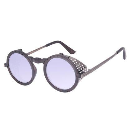 Óculos de Sol Unissex Alok Icônico Steampunk 2.0 Dia dos Namorados Espelhado OC.CL.3291-3201