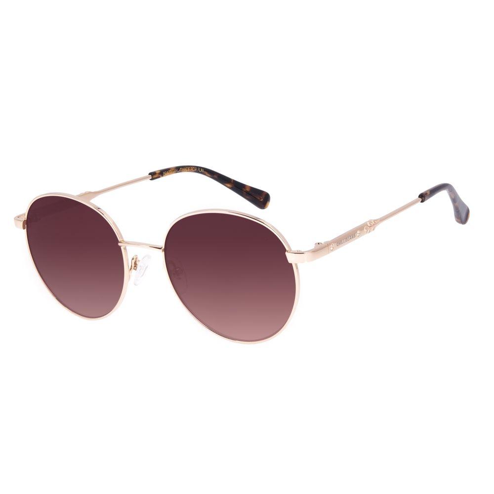 Óculos de Sol Feminino Swarovski Dia dos Namorados Dourado OC.MT.3058-5721