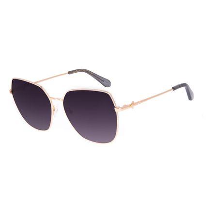 Óculos de Sol Feminino Swarovski Dia dos Namorados Quadrado Dourado OC.MT.3059-2021