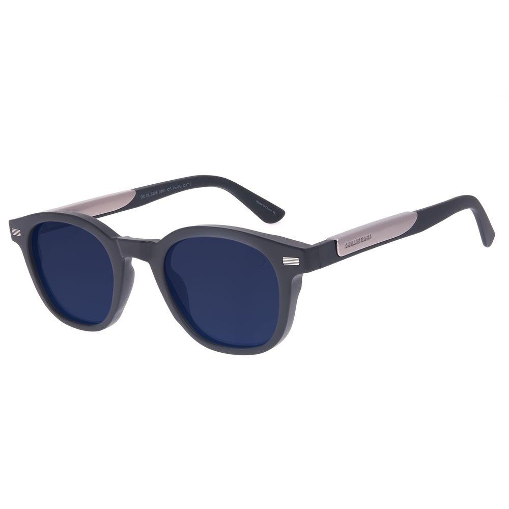 Óculos de Sol Unissex Star Wars Light Saber Redondo Preto OC.CL.3226-0801