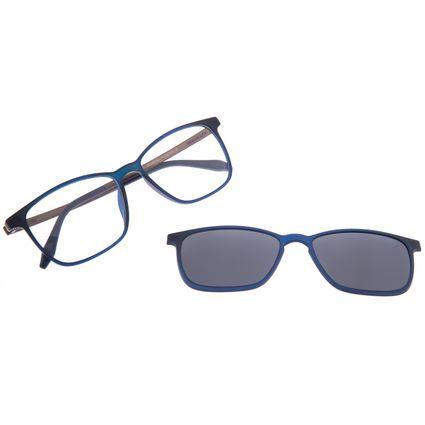 Armação Para Óculos De Grau Masculino Chilli Beans Essential Multi Azul Escuro Polarizado LV.MU.0407-0190