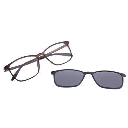 Armação Para Óculos De Grau Masculino Chilli Beans Essential Multi Escuro Polarizado LV.MU.0407-0138